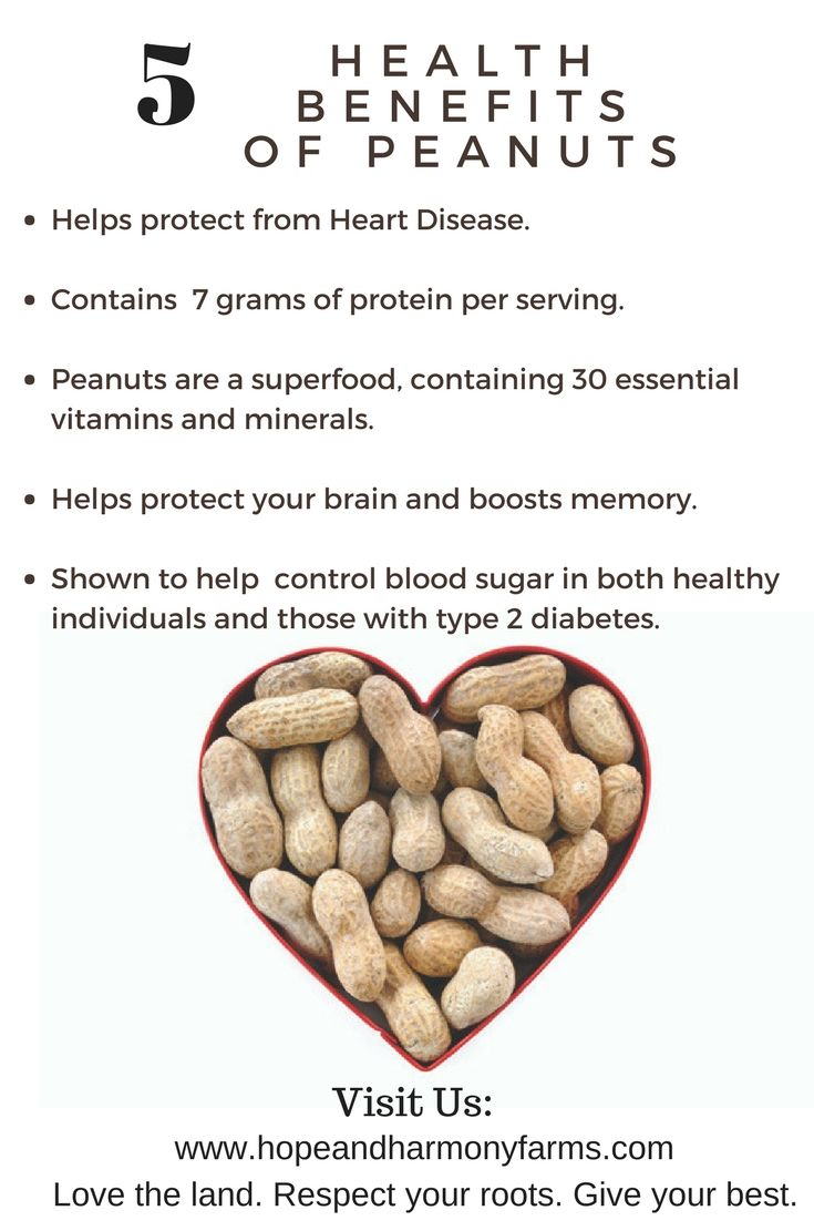 Health benefits of Peanuts: Here at Hope and Harmony Farms ...