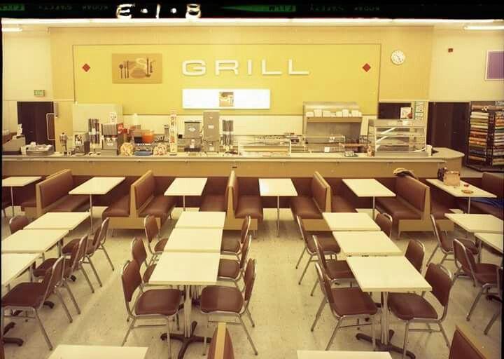 Kmart Grill Cafe Restaurant Cafeteria Kmart Cafeteria Vintage Restaurant