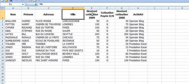 Tuto Tableau Croise Dynamique 2007 Sur Tuto Com Tableau Croise Dynamique Comment Utiliser Excel Astuces Excel