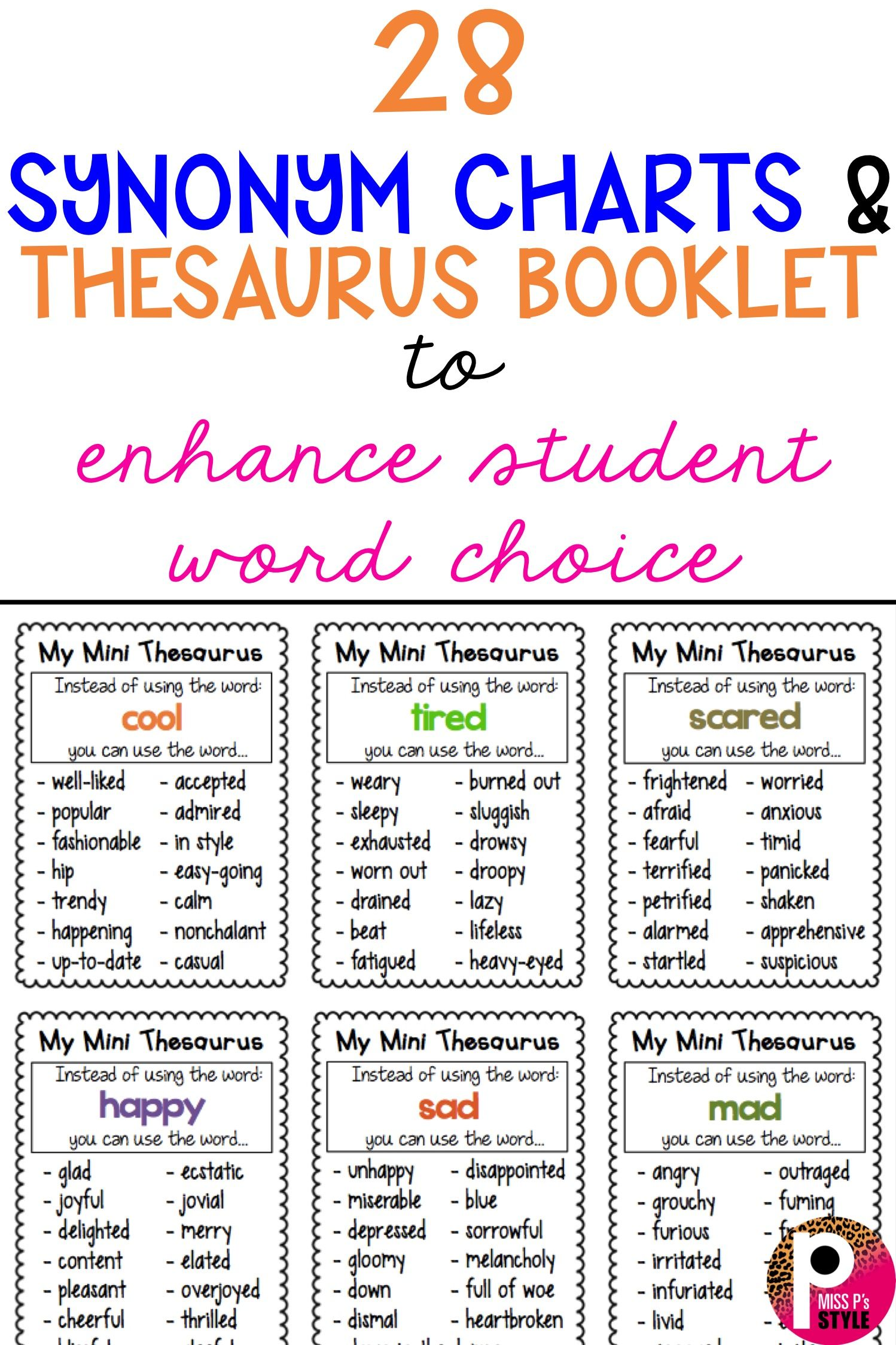 Thesaurus Charts
