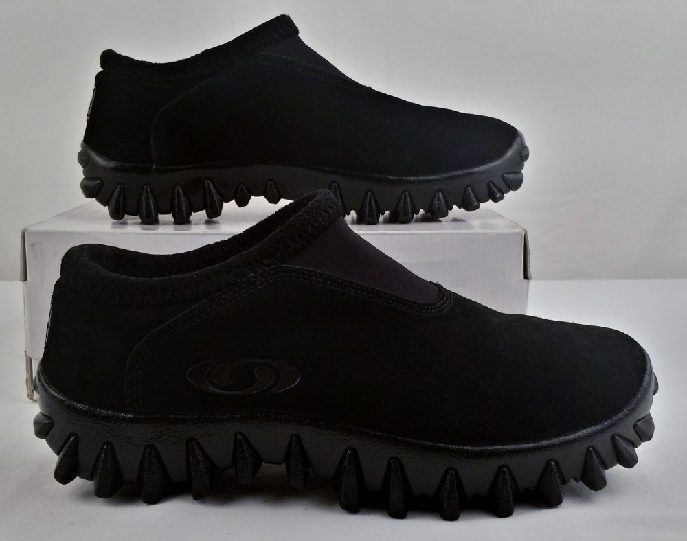 Suede Slip On Mens Shoes Hiking