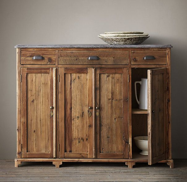 19th C Victorian Bluestone 54 Wood Sideboard Wood Sideboard Sideboard Sideboard Console