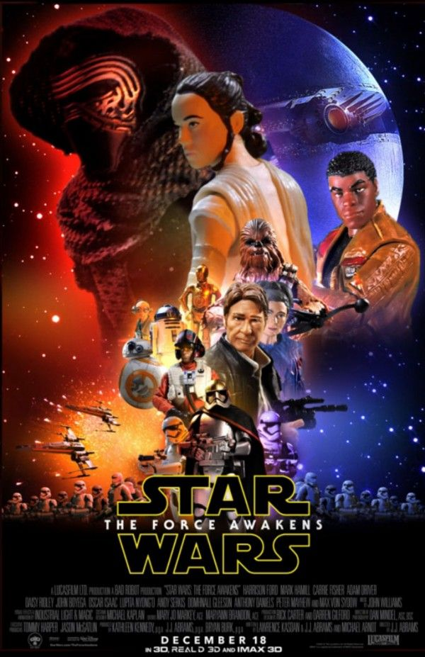 """New Poster reveals Next Wave of STAR WARS: THE FORCE AWAKENS Black Series 6"""" Figures"""