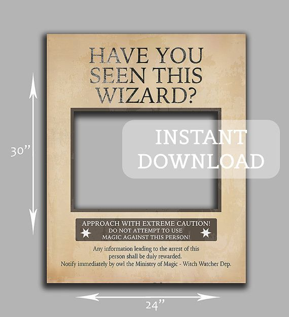 Photobooth Instant Print Harry Potter Bachelorette Harry Potter Wedding Harry Potter Props