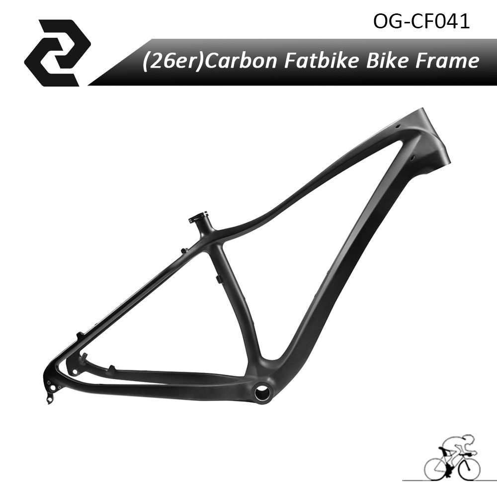 Hot selling Monocoque26 fat bike Frame full carbon fat bike frame UD ...