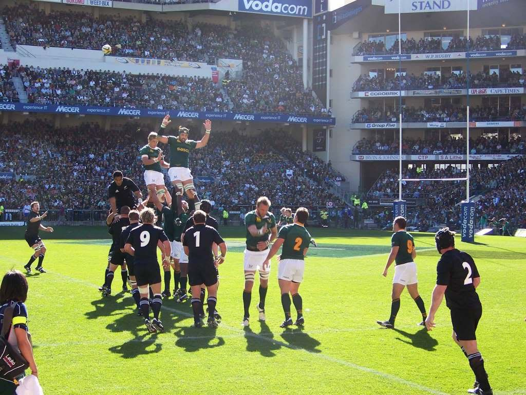 Rugby At Newlands Cape Town South Africa Southern Africa Africa