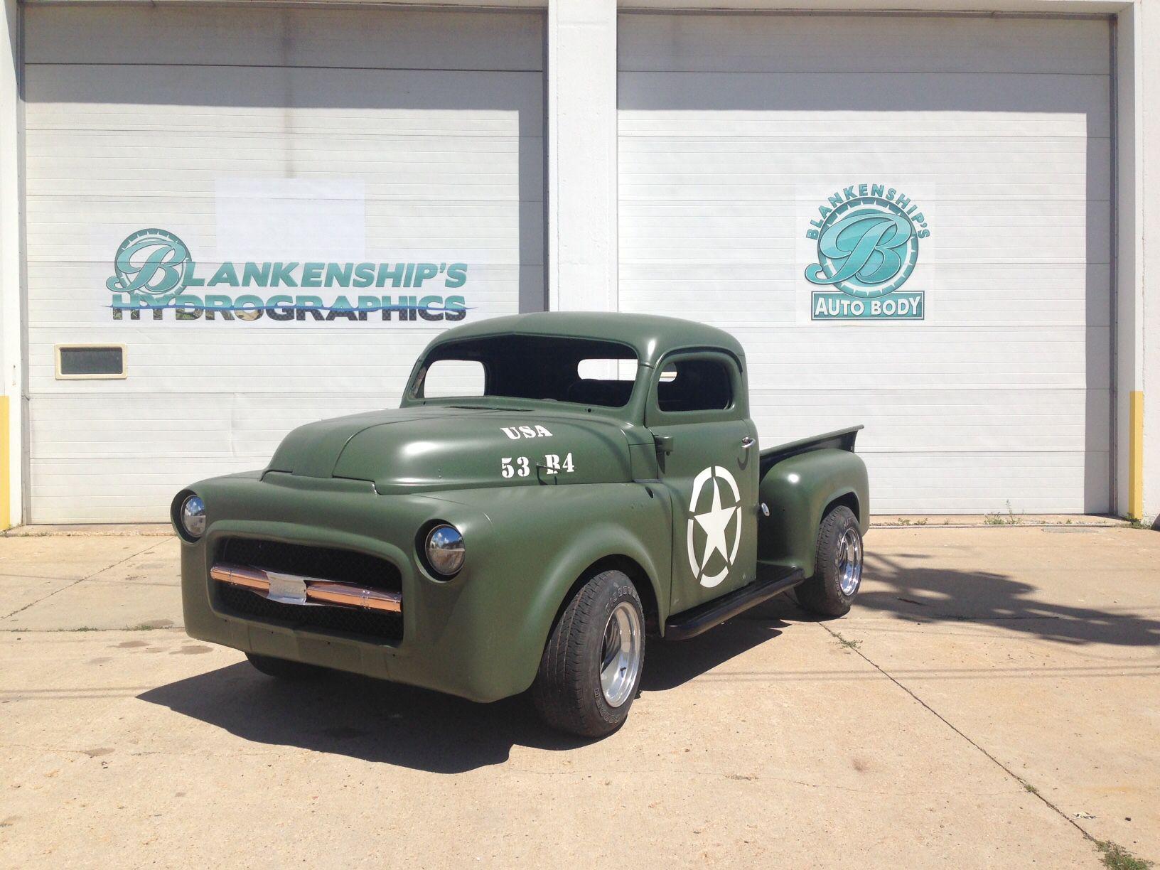 Blankenship s auto body chop top 1953 dodge pickup b4b