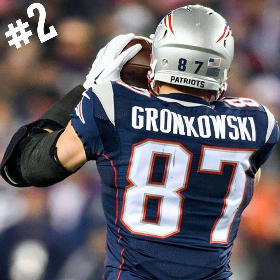 Gronk  87 · Patriots FutebolRob GronkowskiNew England ... 487d5ab5438b3