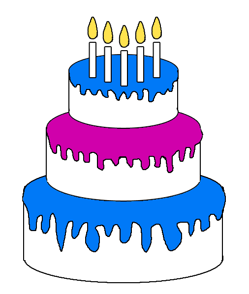 happy birthday cake clipart the cliparts pics words png rh pinterest com happy birthday cake clipart images happy birthday cake clipart transparent