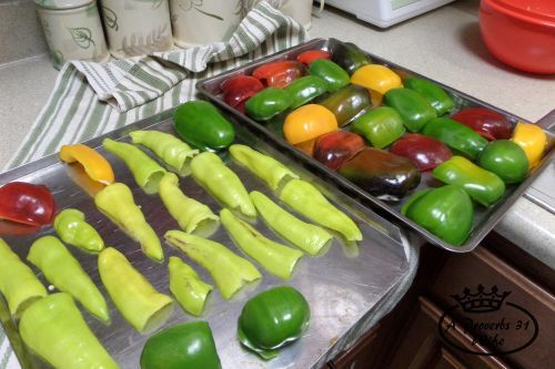 How to Freeze Peppers ~Bell, Bananas and Hot