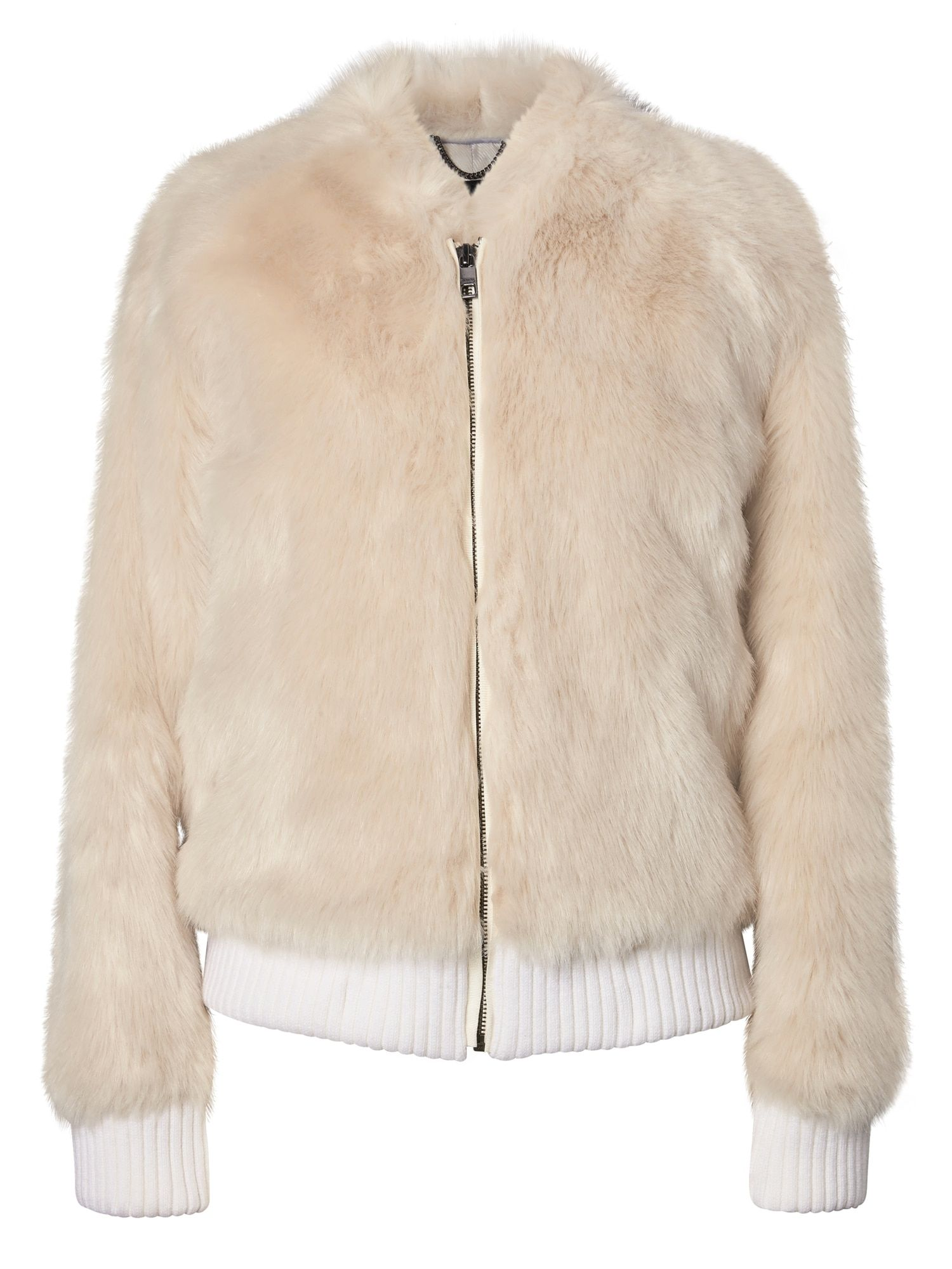 Faux Fur Bomber Banana Republic Pink fur jacket, Pink
