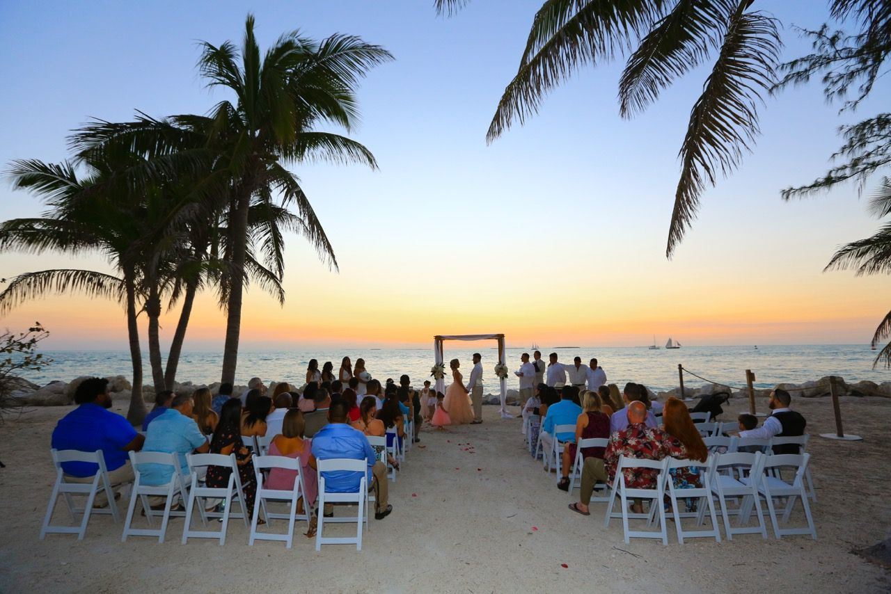 Key West Beach Wedding Packages Soiree Destination Planning Solaris Photography
