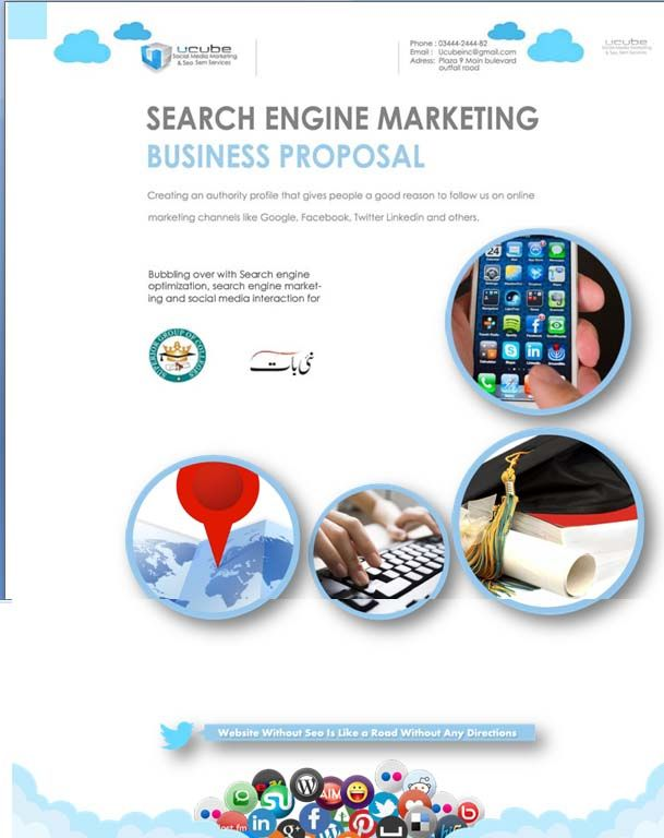 Creative Social Media Marketing Strategy Plan Excel Project