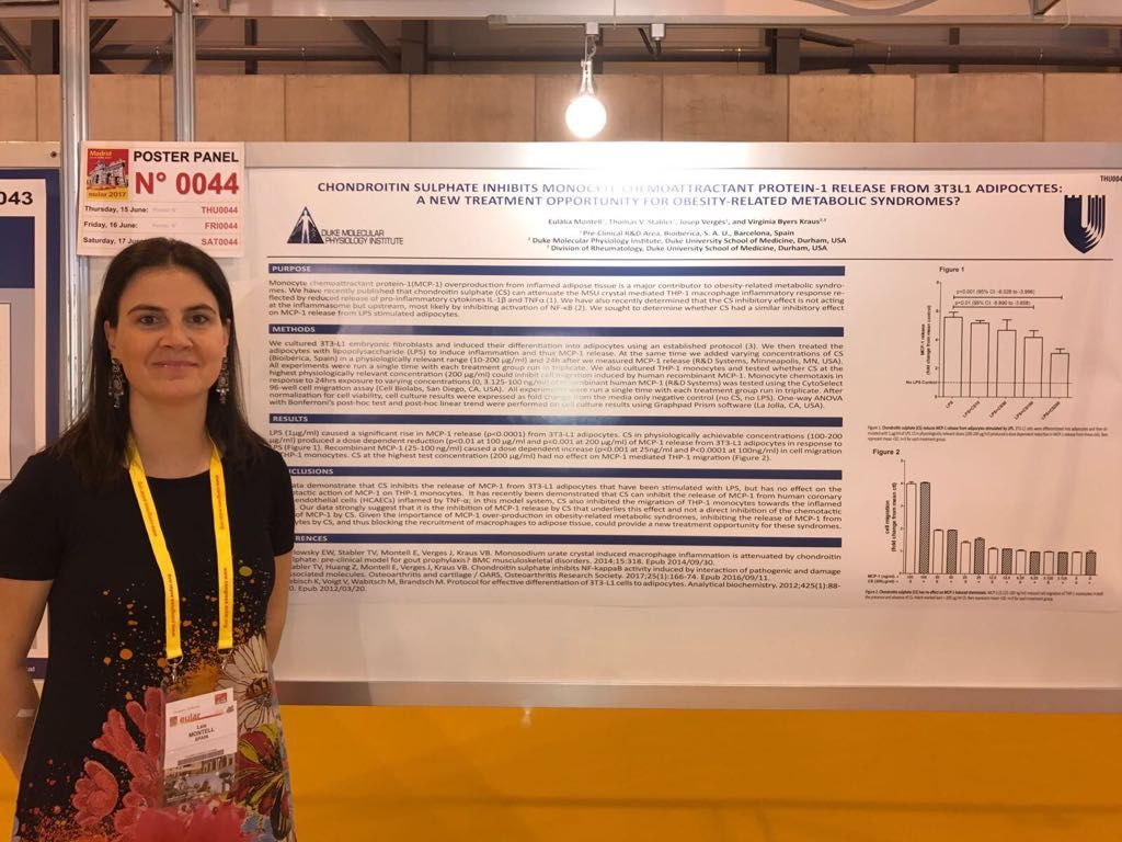#EULAR2017 (Madrid, 14-17 June) - Poster session at the Annual European Congress of Rheumatology