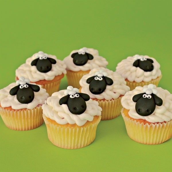 Duff™Baby Lamb Cupcake Kit - cake mix didn't work (think the directions were wrong and mixed the water/oil proportions) but the icing and sheep toppers were perfect.