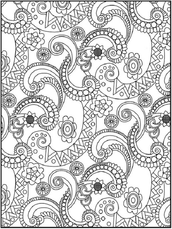 Detailed Coloring Pages For Older Kids