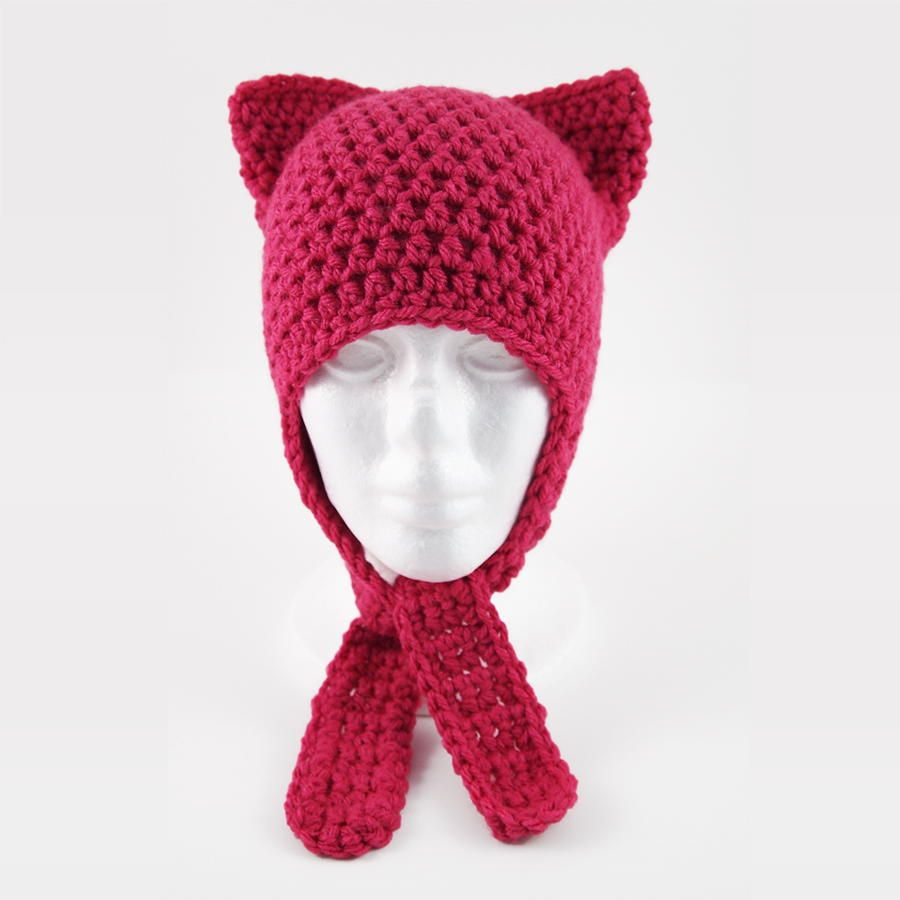 Cute and Easy Crochet Cat Hat   Babys