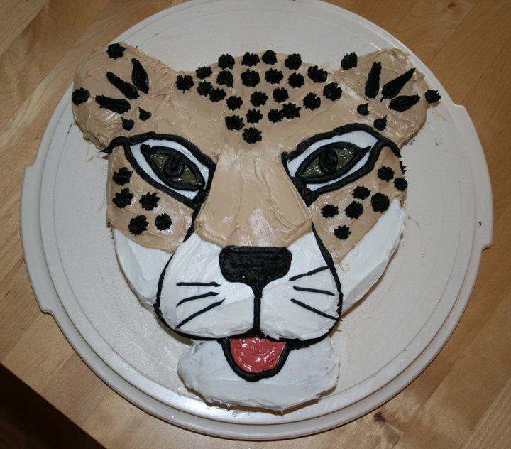 Excellent Cheetah Cake Cheetah Cakes Funny Birthday Cards Online Benoljebrpdamsfinfo
