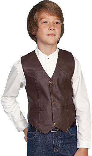Rw093k Bur Scully Boys Paisley Vest