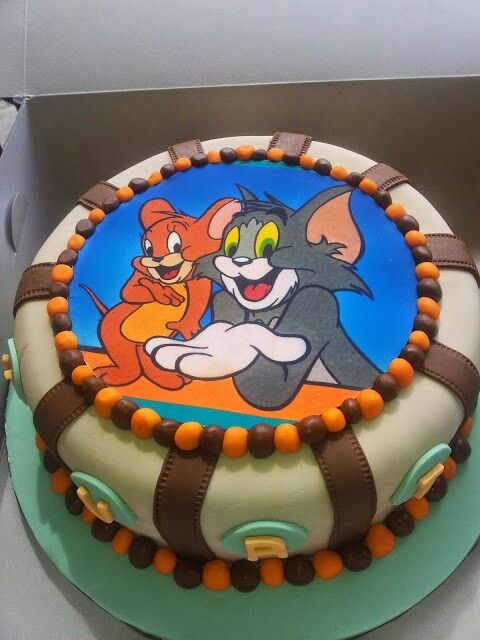 Tom And Jerry Cake Tom And Jerry Cake Cake Cake Designs For Kids