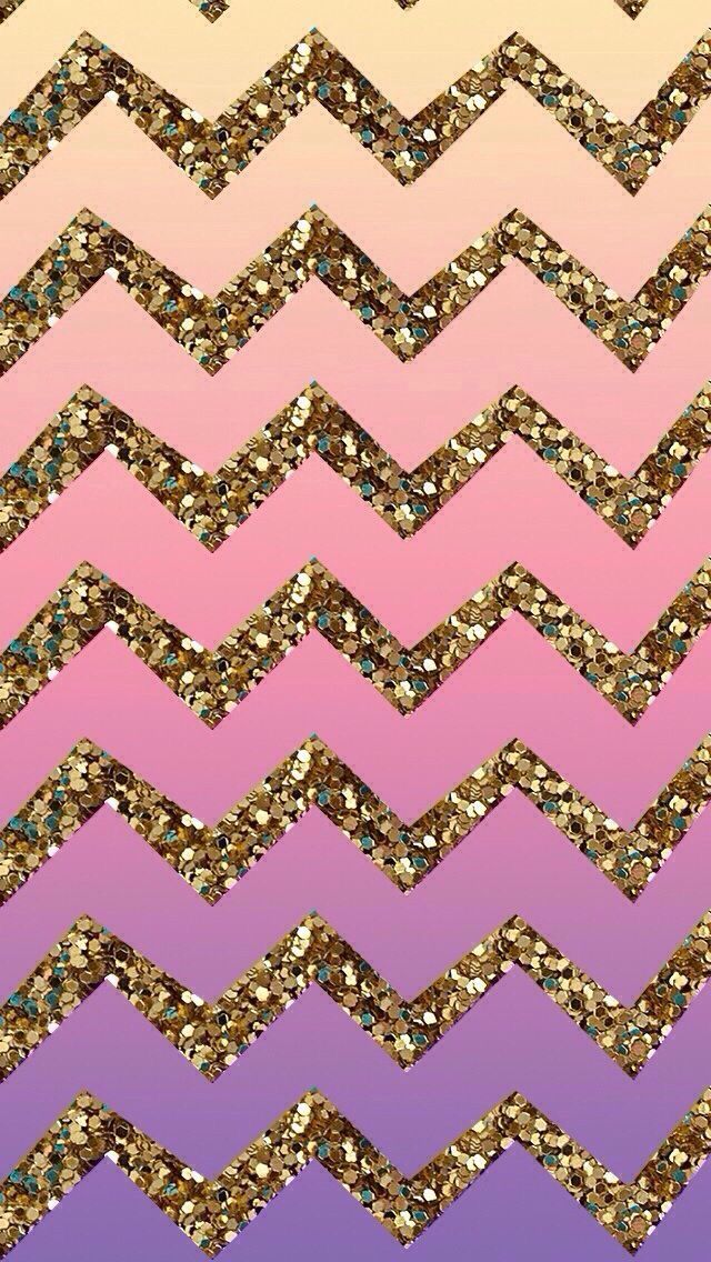 Glitter wallpaper image by Ellie on Wallpapers | Chevron ...
