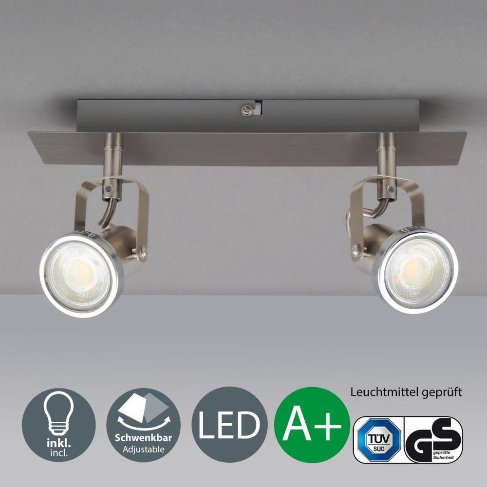 Cool Lampe 3 Flammig Referenz Von Led Decken-leuchte Spot-lampe Leiste Design-deckenstrahler Spotlights Wohnzimmer