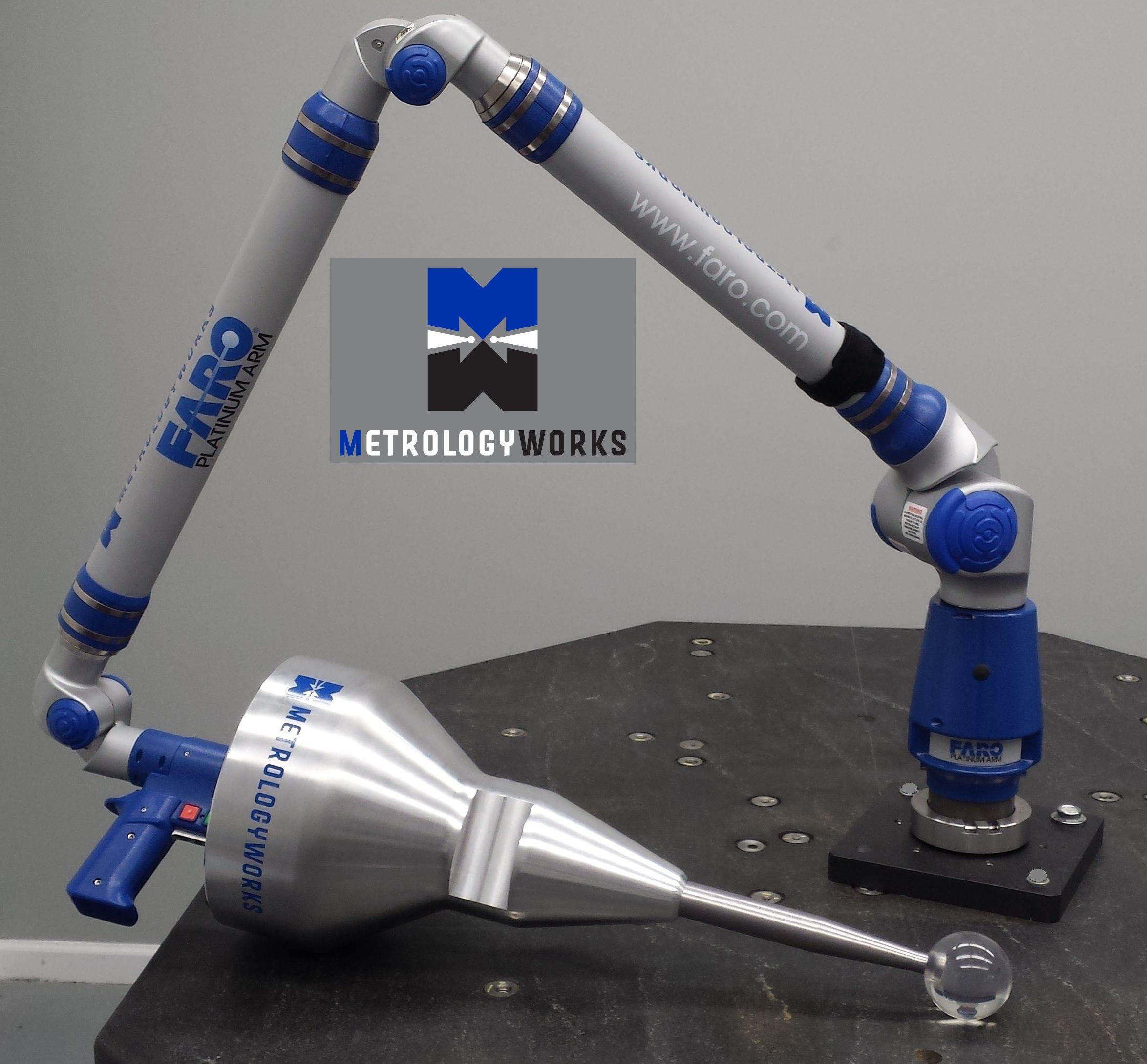 Worlds Largest Probe For Faro Arm On Faro Arm Jpg 2 348 2 180 Pixel Probe Faro Portable