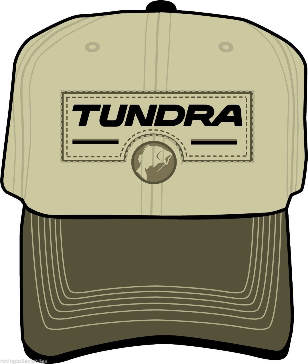 Toyota TUNDRA on a Tan Green new ball cap w tags  Toyota TUNDRA logo on a new  tan and green ball cap with tags. One of a kind and on a few left...but it  ... 4afe600aad17
