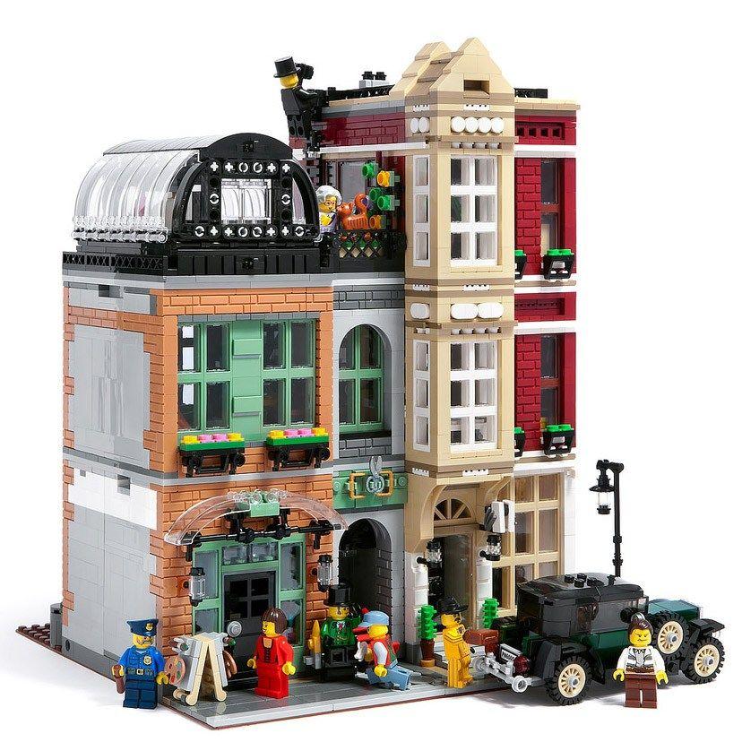 StreetIl Vrai A Lego Tout D'un Bootblack Modular WIYe9DEH2