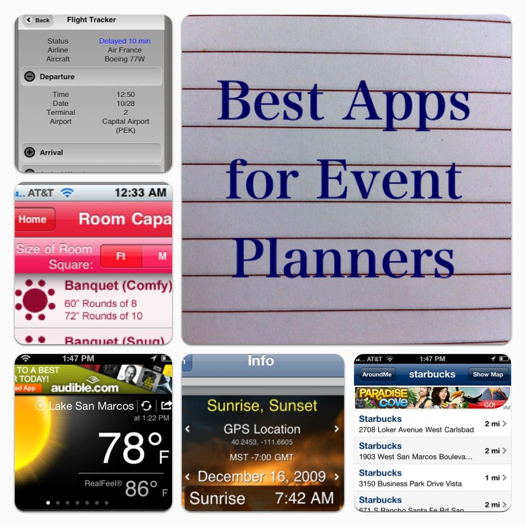 Event Planinng must have apps Party planning business