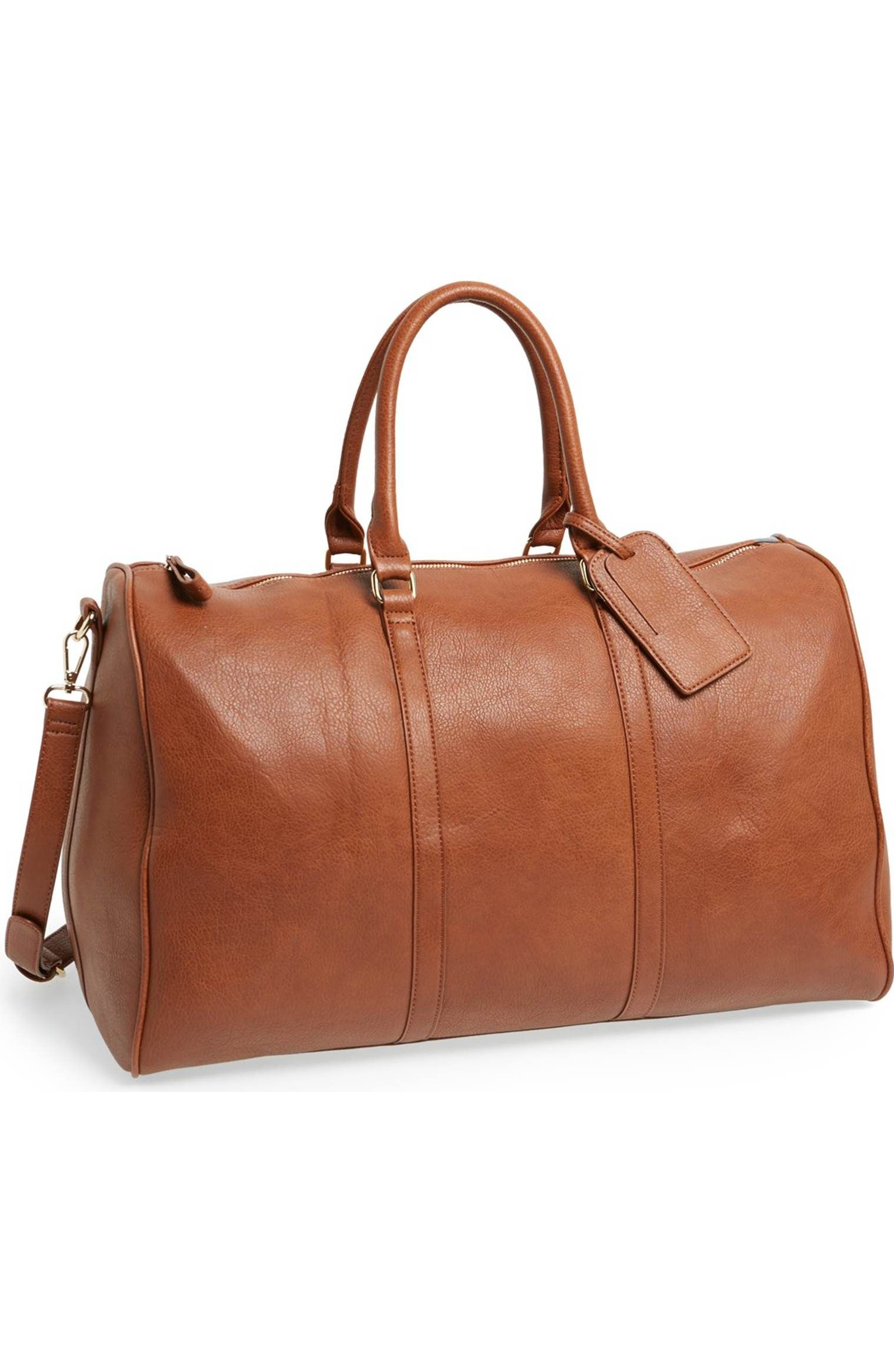 Main Image Sole Society Lacie Faux Leather Duffel Bag Leather Duffel Leather Duffel Bag Leather Duffle Bag