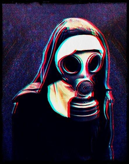 gas mask   Tumblr