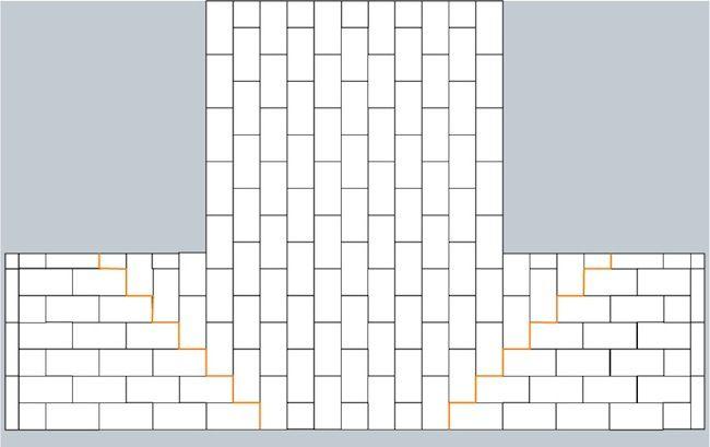 awesome pattern for switching directionredesignpinterest awesome pattern for switching directionredesignpinterest subway tile kitchen backsplash