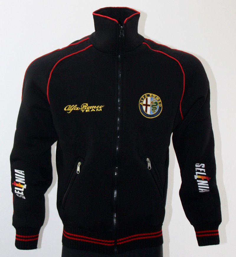 Details About Alfa Romeo Fleece Jacket Polar Coat Veste