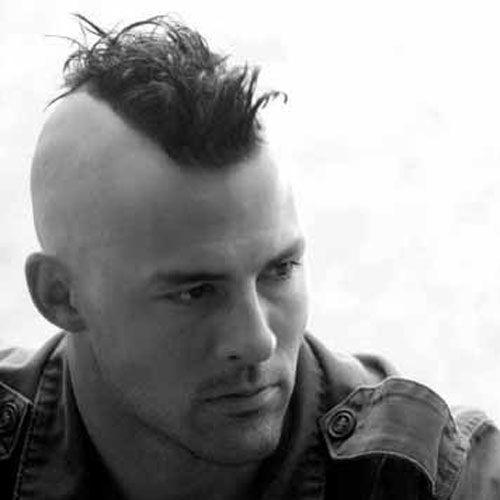 30 Mohawk Hairstyles For Men | Men\'s Shaving | Pinterest | Mohawks ...