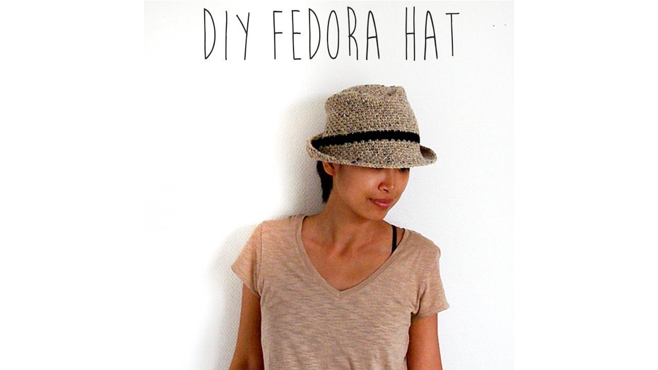 Video tutorial on how to make a fedora hat pattern by teratai http video tutorial on how to make a fedora hat pattern by teratai http baditri Image collections