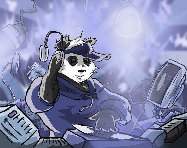 Techno Panda by Sodano.