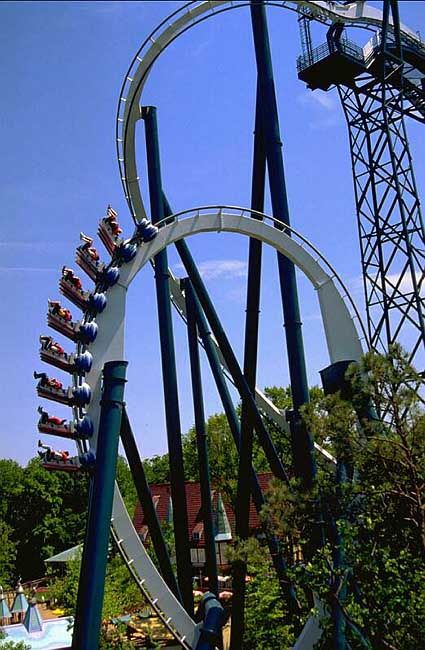 Alpengeist Roller Coaster Never Rode One With My Feet Hanging Out Scarier Screaming Fun