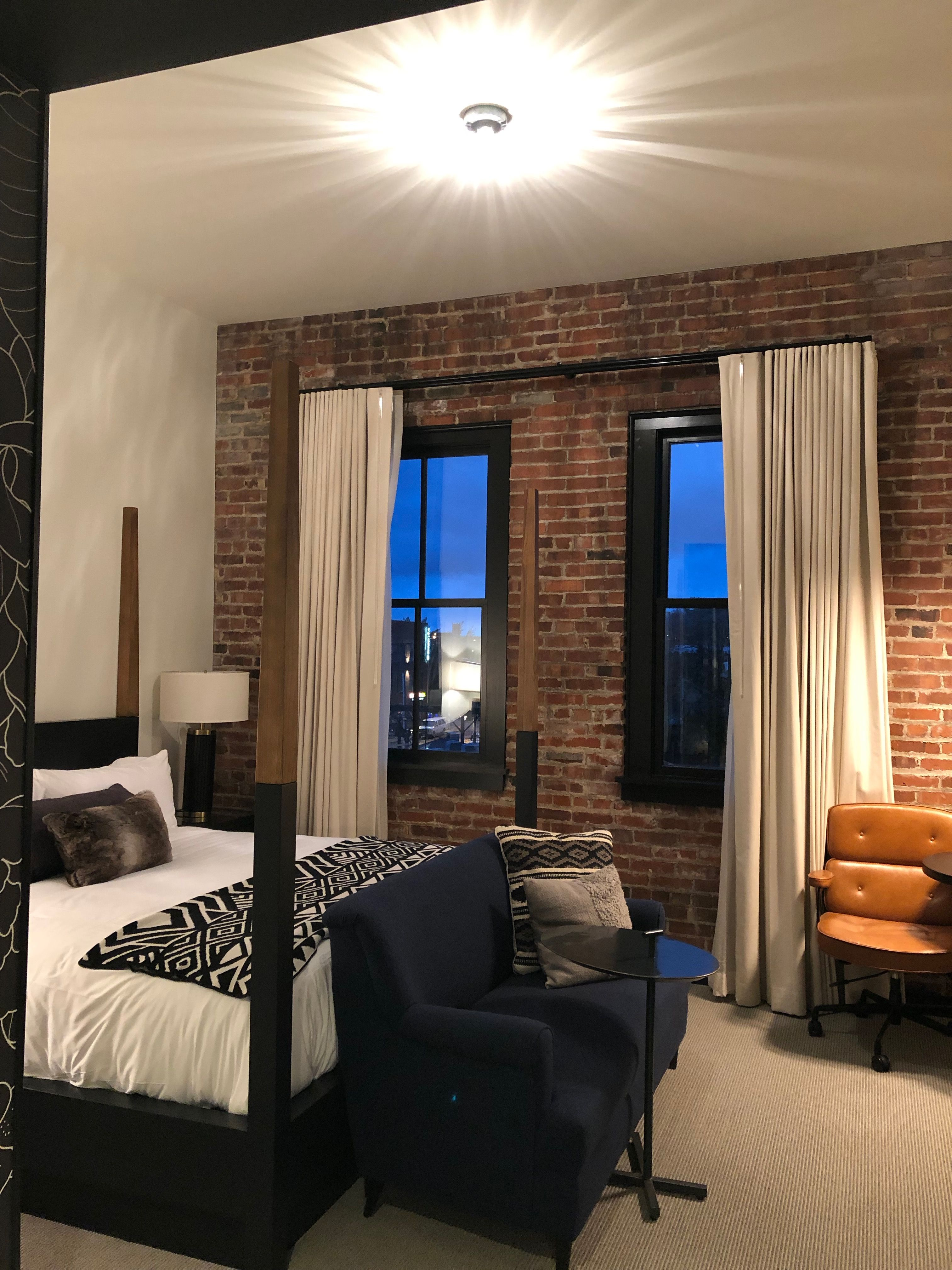 Crossroads Hotel In Kansas City Love This Style Master Bedroom Apartment Home