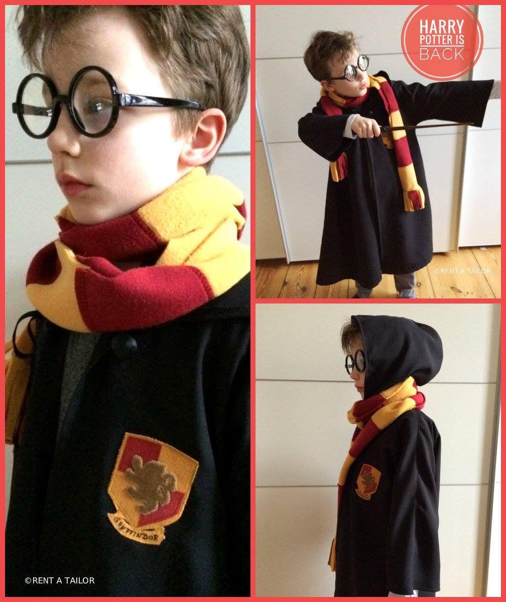 Kostüm Harry Potter - ohne Schnittmuster einen Umhang nähen www ...