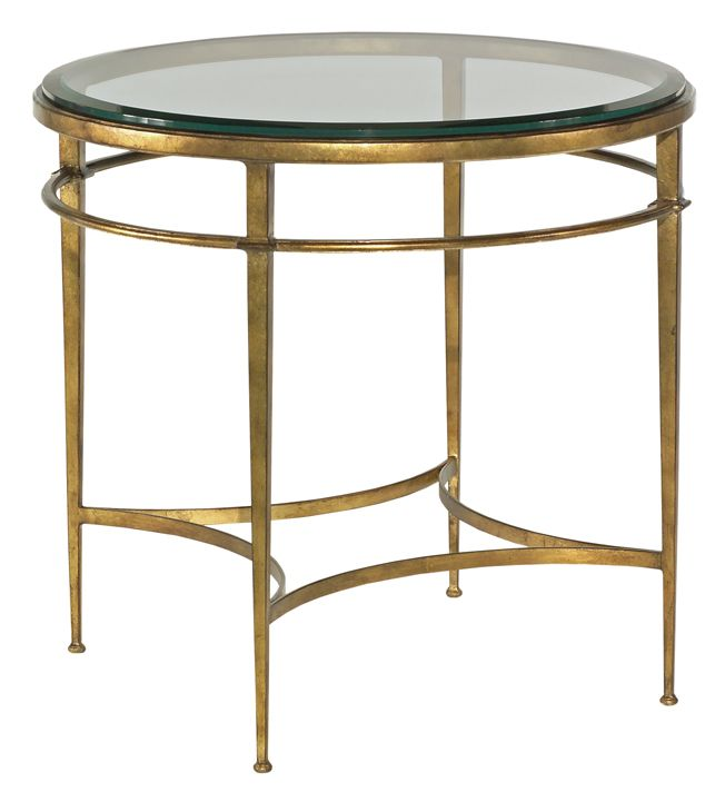 Woodbridge 1092 50 Les Halles Side Table 30 Diameter X 29 High