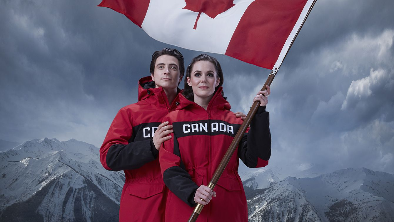 All Eyes Will Be On Tessa Virtue And Scott Moir As They Carry The Flag And Lead Team Canada Into The Pyeongchang 2018 Team Canada Virtue And Moir Olympic Club