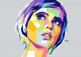 Felicity Jones | Displate thumbnail