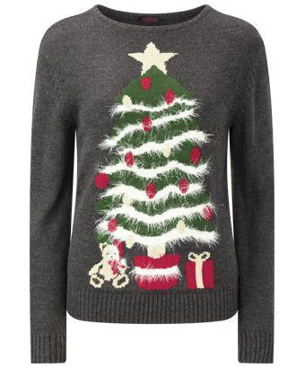 Women S Knitwear Christmas Tree Novelty Knit Women S