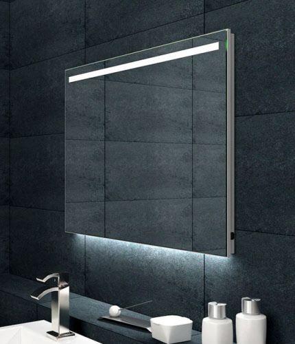 Goedkope badkame rspiegels spiegel met led verlichting for Spiegel badkamer verlichting