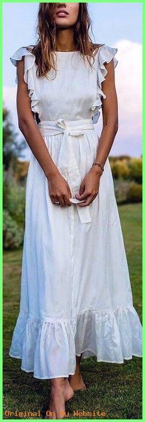 Photo of Sommerkleider 2019: summer style || Beautiful White wrap maxi dress  #luftigesommerkleidergü…