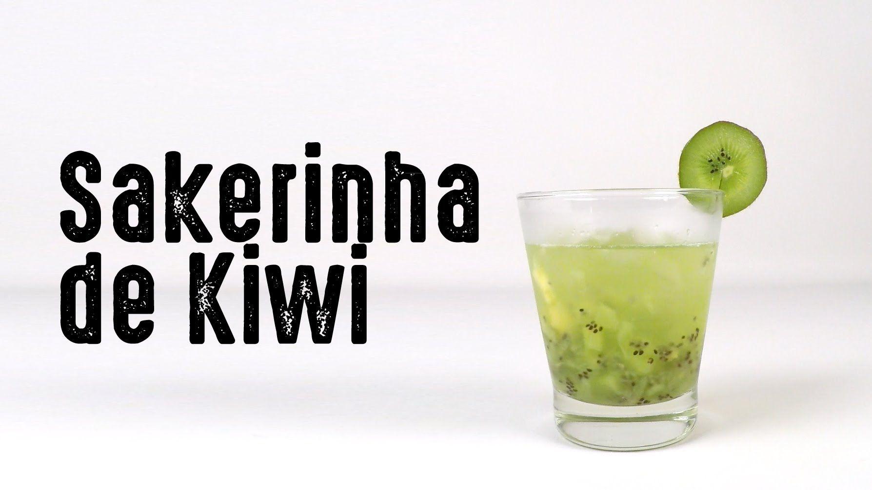 Receita de como fazer um drink Sakerinha de Kiwi - YouTube