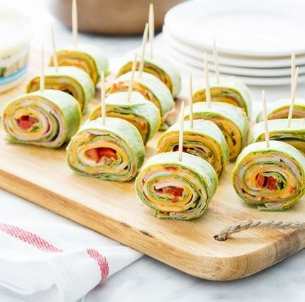 Roasted Red Pepper Hummus Pinwheels... Happy Hour Appetizers 96 | Hampton Roads Happy Hour - i.12.5