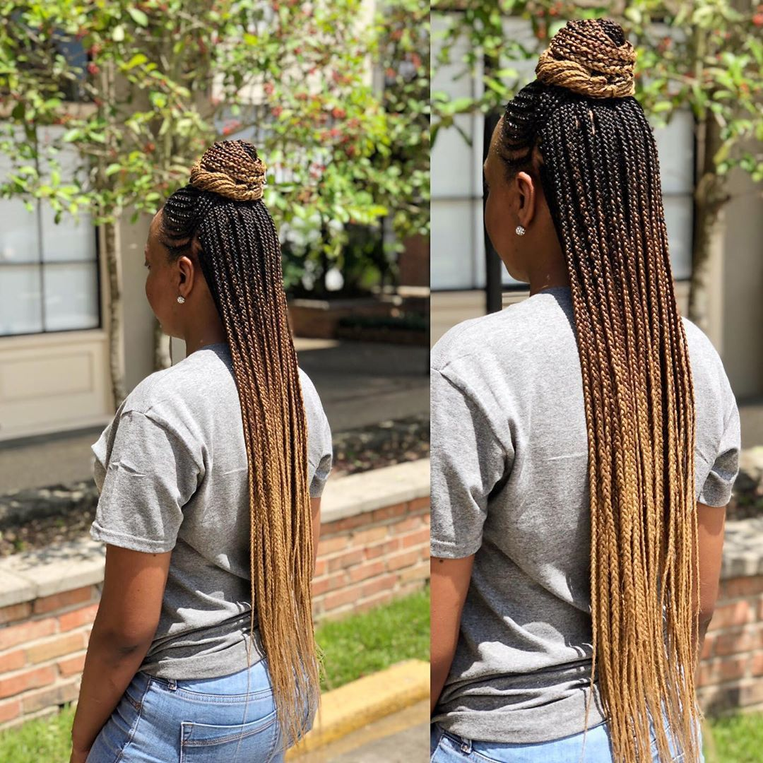 25 African Braids Hairstyle Pictures to Inspire You # fulani Braids with curls