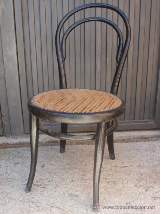 Antigua silla thonet con enea en perfecto estado ver segunda mano pinterest sillas - Sillas de cocina de segunda mano ...